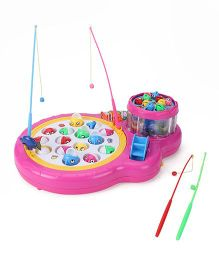 Musical Fish Gaming Set Toy - Pink