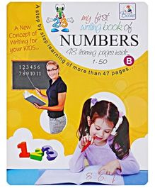 My First Writing Book Of Numbers