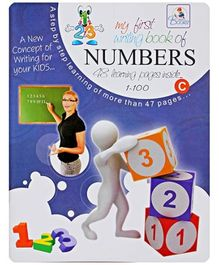 My First Writing Book Of Numbers 1-100