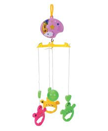 Wind Up Musical Cot Mobile - Multicolour