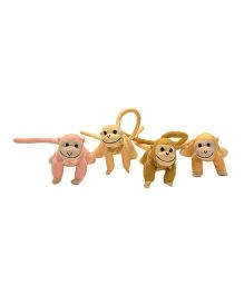 Kuddles Long Tail Monkey Toy - Multicolor