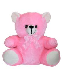Ultra Small And Cute Rinku Teddy Pink - 11 inches