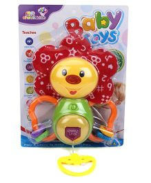 Butterfly Shape Baby Rattle- Yellow