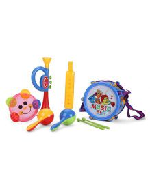 Party Band Musical Instrument Set Multicolor - Pack Of 7