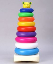 Ratnas Teddy Stack A Ring Jumbo Multicolor - 9 Pieces