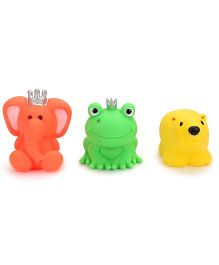 Ratnas Squeaky Toys Animal Multicolor - 3 Pieces