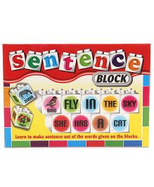 Ratnas Sentence Block Set - 24 Pieces