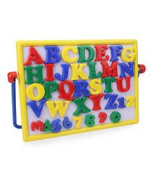 Ratnas Magnetic Alphabets And Numeric Cum Writing Board