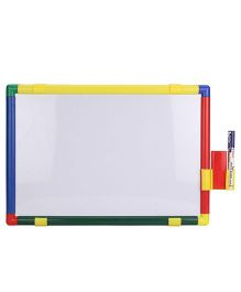 Ratnas Kinder Double Side Writing Board - Multicolor