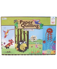 Ratnas Paper Quilling Beginners Kit - Multicolor