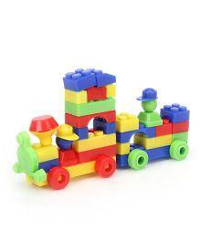 Ratnas Junior Happy Train Building Set - Multicolour
