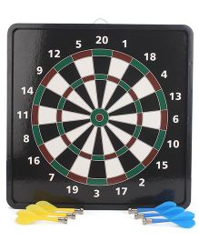 Magnetic 2 in 1 Dart Board with Baseball - Black
