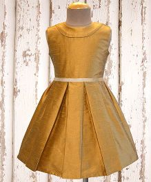 A.T.U.N Classic Audrey Dress - Antique Gold