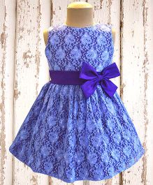 A.T.U.N Lace Overlay Dress - Lavender