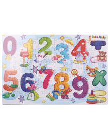 Puzzle With Numbers Game - Multicolor
