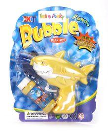 Shark Fish Design Bubble Gun - Yellow