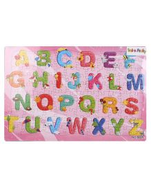 Puzzle With Alphabets Game - Multicolor