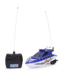 Remote Controlled Racing Boat - Blue White