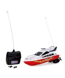 Radio Control Racing Boat - White And Red