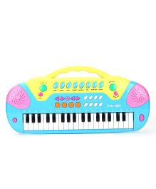Music Keyboard Piano - Blue And Yellow
