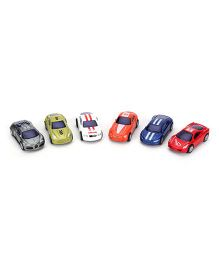 Racing Car Toy Set Multicolor - Pack Of 6