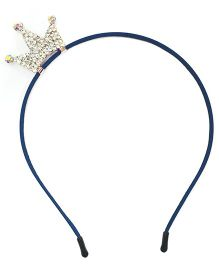 ATUN Princess Crown Hair Band - Navy Blue
