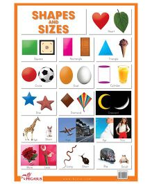 Shapes And Sizes Chart - English