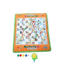 Snakes And Ladders Mat - Multicolour