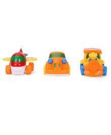 Toy Vehicle Set - Multicolour
