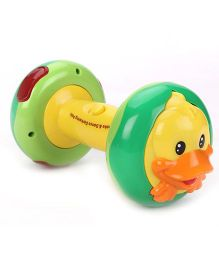 Musical Animal Dumbell - Green Yellow