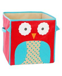 My Gift Booth Owl Fun Storage Boxes - Red