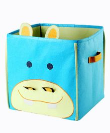 My Gift Booth Rhino Design Foldable Storage Boxes - Lime Green & Sky Blue