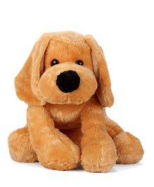 Dimpy Stuff Snowy Dog Soft Toy Brown - 31 Inches