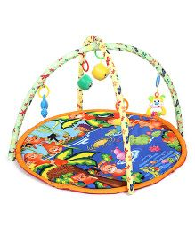 Baby Play Gym Monkey Print - Multicolor