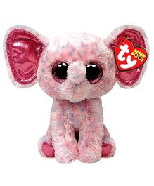 Jungly World Ellie Speckled Elephant Reg Pink - 15 cm
