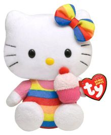 Jungly World Hello Kitty Cupcake - 6 inch