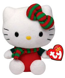 Jungly World Hello Kitty Christmas Outfit Red - 15 cm