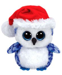 Jungly World Icicles Owl Reg Blue - 6 inch