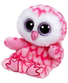 Jungly World Milly Owl Pink - 15 cm