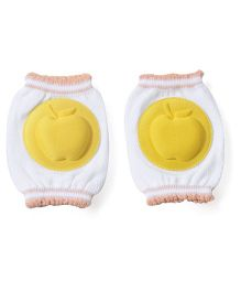 Adore Baby Knee Pads Apple Design - Yellow White