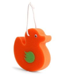 Adore Baby Bath Sponge Duck Shape (Color May Vary)