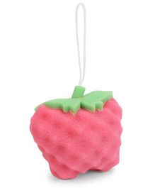 Adore Fruit Shape Baby Bath Sponge - Pink