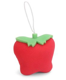 Adore Fruit Shape Baby Bath Sponge - Red & Green