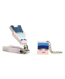 Adore Baby Cartoon Nail clipper With Cap Blue (Character May Vary)