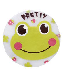 Adore Baby Shower Cap Cartoon Pretty Frog - Cream & Green