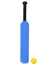 Cricket Bat And Ball Set - Blue