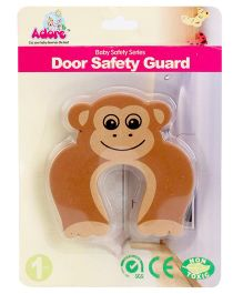 Adore Door Safety Guard Monkey Design - Brown