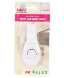 Adore Baby Nylon Belt Safety Lock - White