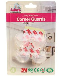 Adore Baby Transparent Corner Ball Guard
