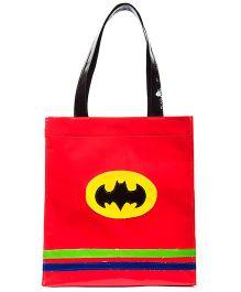 Li'll Pumpkins Batman Print Tote Bag - Red